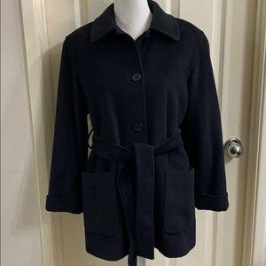 Cinzia Rocca Italian 100% Lana Wool Coat